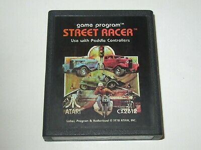 Street Racer (Atari 2600) for sale  Shipping to India
