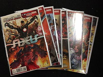 AXIS - Marvel Set #1-9 - 1st Print  Complete Series Run NM / X-Men Avengers