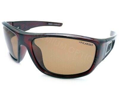 Dirty Dog - Schalldämpfer Polarisierte Sonnenbrillen Dunkelbraun / Brown CAT.3