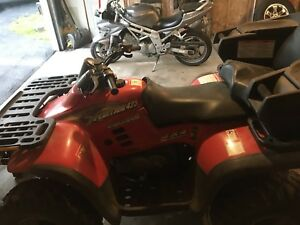 2000 Polaris Xpedition 425 with plow 4x4