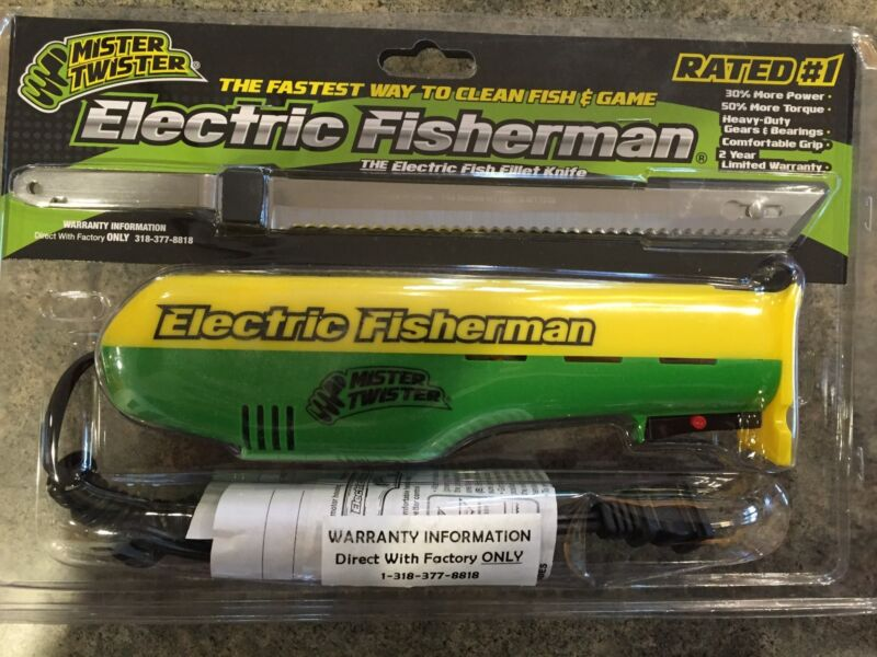 Mister Twister 120V Electric Knife (Green/Yellow) EFILM