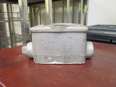 Hubbell Receptacle Woutlet Box 30a 480v 3ph 4w Used