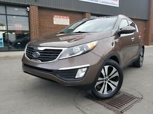 2012 Kia Sportage EX NAVI / BACK UP CAMERA / AWD PANORAMIC ROOFS
