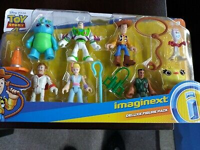 TOY STORY 4 IMAGINEXT Deluxe Figure Pack 12 Pieces Disney Pixar Cake Toppers NEW