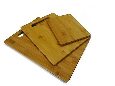 Bamboo Cutting and Serving Boards-set of 3