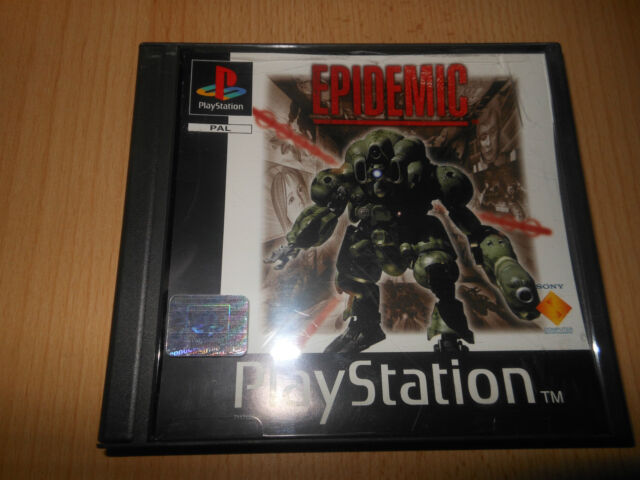 Epidemic. Playstation 1 MINT COLLECTORS PAL VERSION