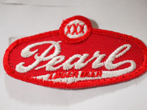 Pearl Lager Beer Patch ,   Vintage  (4573)*(**)