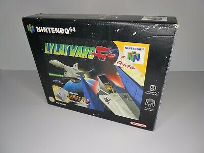 Nintendo 64 N64 Console Game - Lylat Wars - Boxed - Lovely Condition - PAL