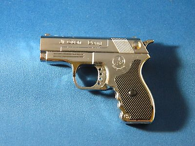 Novelty Pistol Gun Style Butane Jet Torch Lighter with USA Legal Laser