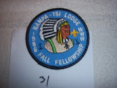 Nampa Tsi Lodge 216 eR 1986 Great Rivers Order Arrow Patch  Missouri -31