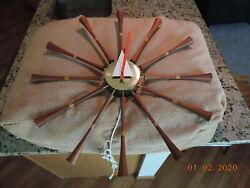 Howard Miller - George Nelson #2239 Spool Clock - Vintage, not Vitra