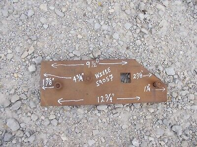 Farmall Ih Ihc International Landslide Wear Pad Super Chief Plow Wiese 59057
