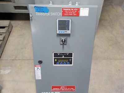 Kohler Transfer Switch 70 Amp 480277 Volt In Very Good Condition