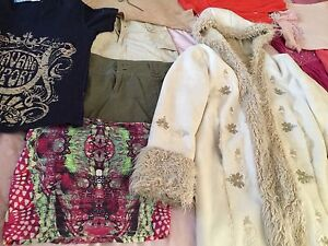 Winter Jacket and 14 other clothes Ingleburn Campbelltown Area Preview