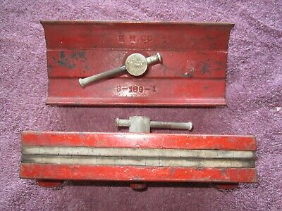 ? MYSTERY WHAT IS IT UNKNOWN? H.M. Co., B-189 CAST IRON RUBBER PADDED CLAMP