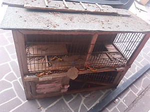 Free Rabbit Hutch Jamisontown Penrith Area Preview