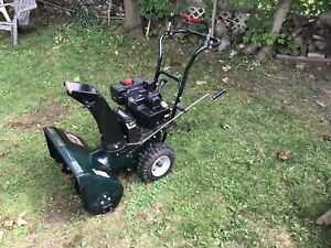 Craftsman snowblower 9hp 24 Auger. All tuned up.