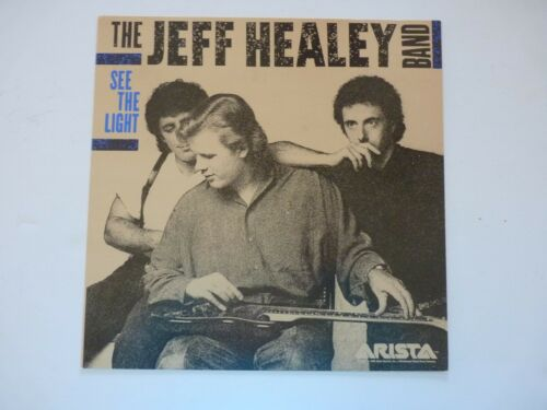 Jeff Healey Band See The Light LP Record Photo Flat 12x12 Poster