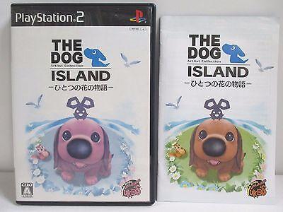 PlayStation2 -- THE DOG ISLAND Hitotsu no Hana - PS2. JAPAN GAME. Work!48581