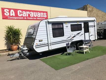 2010 Majestic Knight 20' Caravan with Rear Ensuite Klemzig Port Adelaide Area Preview