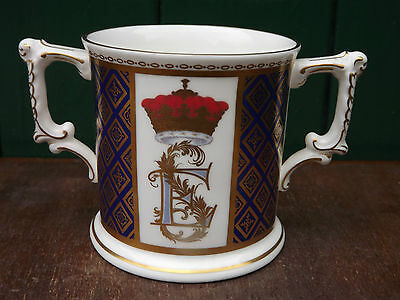 1999 Prince Edward & Sophie  wedding Crown Derby Loving Cup No 120 of 750