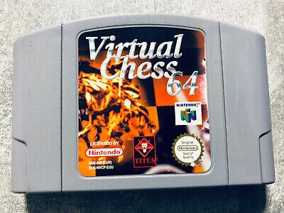Nintendo - N64 - Spiel - Virtual Chess 64 - Modul