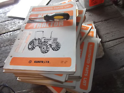 Kubota Illustrated Parts List For Tractor Model M7030su-dt Location Ah