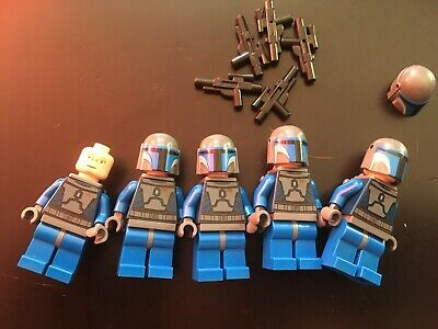 Lego Star Wars  Mandalorian Death Watch x 5 Minifig Minifigures (2 of 2)