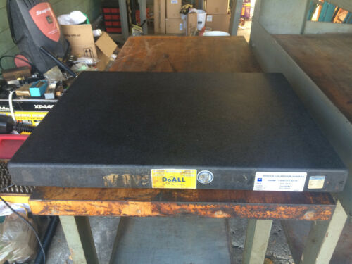 """DOALL 4"""" X 18"""" X 24"""" STEPPED SURFACE PLATE/MACHINIST TOOLS"""