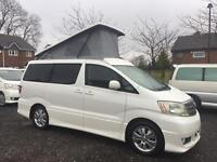 Toyota Alphard MS 3.0 v6 auto new pop top roof can lpg or camper in stock now
