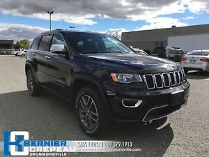 2018 Jeep Grand Cherokee Limited **TOIT, CAMERA, ENS. CHAUFFANT*
