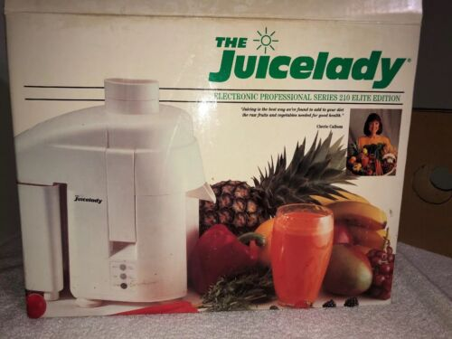 New The Juicelady Electronic Pro Series JL210A Elite Edition