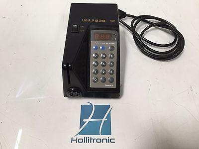 Hakko 939-1 Programmable Digital Soldering Station Temperature Lockout