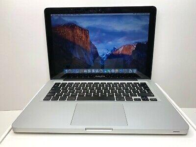 """Apple MacBook a1278 13.3"""" C2D 2.0Ghz 8GB RAM 500GB HDD"""