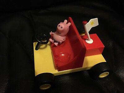 Peppa Pig Beach Buggy Toy and George Figure (Peppa Pig Beach)