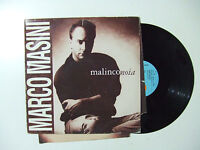 Marco Masini ‎– Malinconoia - Disco Vinile 33 Giri Lp Album Italia 1991 Pop/rock -  - ebay.it