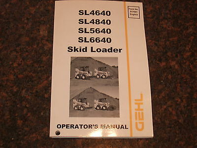 Mustang Mr66s Mr66p Skid Steer Parts Service Operation Maintenance Manual