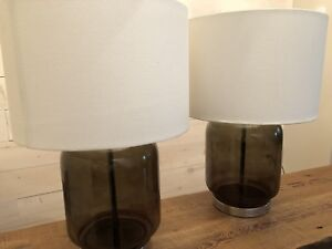 Pair of Mid century style lamps