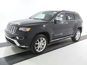 2016 Jeep Grand Cherokee Summit ECO DIESEL DVD LOW KMS