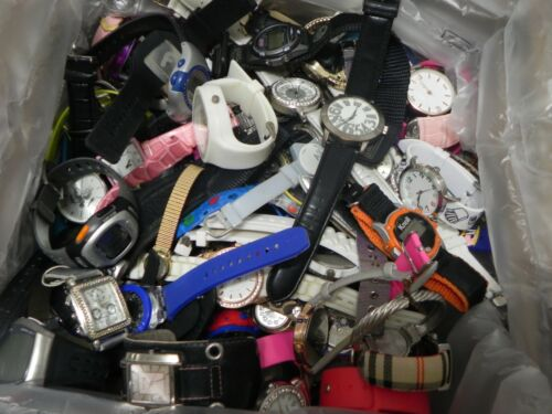 Huge Lot of Wrist Watches-Over 13 Lbs. For Parts or U-FIX-Mixed Gender