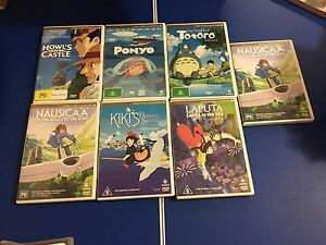 Anime and manga DVDs: studio ghibli stuff and more!! Wheelers Hill Monash Area Preview