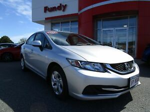 2013 Honda Civic LX w/Heated Seats, Bluetooth, A/C