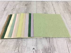 Scrapbooking/Cardmaking 15 sheets handmade 12x12 paper Birkdale Redland Area Preview
