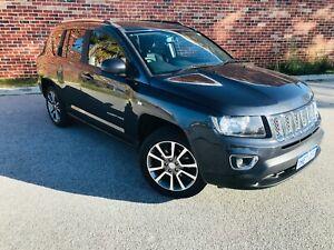 2016 Jeep Compass Limited 4x4 Auto $19,990 Victoria Park Victoria Park Area Preview