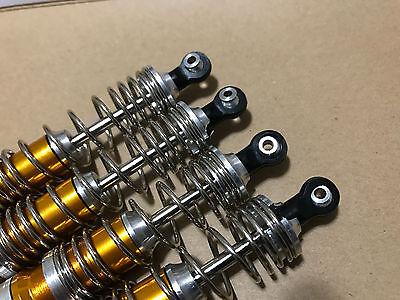 BIG BORE ALUMINUM Shock For Traxxas Slash VXL 4x4 2WD XL5 Gold !!