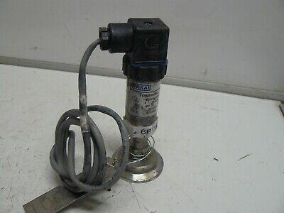 Wika S-10 Pressure Transmitter 80inhg 100 Psi Dc 10-30 Volt Part Number 4204387