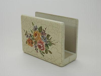 Vintage Brugs Svend Nielsen A/S Kunst Wooden Kitchen Match Box Holder