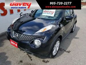 2014 Nissan Juke SL ALL WHEEL DRIVE, BACK UP CAMERA, NAVIGATION