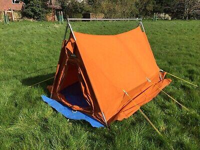Vintage Blacks Mountain Tent protex 3 cotton fabric, with flysheet
