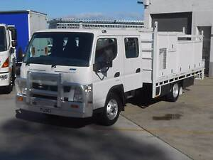 2014 Mitsubishi Canter 815 Crew *** Great Service Truck *** Old Guildford Fairfield Area Preview